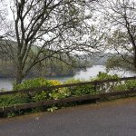 View from the car park at the Cormorant