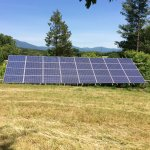 Our solar array located near the cottages.