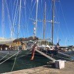Sailing ships pre-regatta