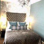 Master bedroom in suite 704