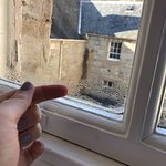 Condensation/water build up INSIDE windows.