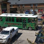 Trolley service available from City of Deadwood.