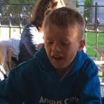 Angus Croft a frequent visitor celebrated his 10th Birthday there 22nd April 20177