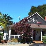 Anaba Wines Farmhouse Tasting Room - Wind Turbine in back