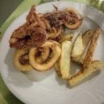 Fried calamaries