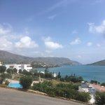 Views from hotel sentido elounda blu