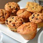 Muffin fait maison par la patronne !