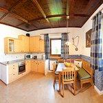 Zirbenstube kitchen