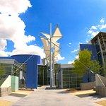 Mesa Arts Center's iconic shade sails.