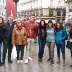 a tour in Madrid with Edu