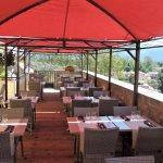 Notre terrasse panoramique et ombragée