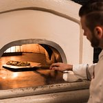 Brick Fired Pizza Oven at Fiorenzo Italina Steakhouse
