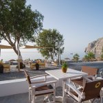 Melitis restaurant is based on the Mediterranean cuisine with local flavors