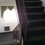 interior hallway stairs