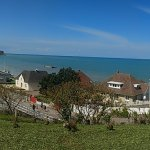View over Arromanches from the 360 museum