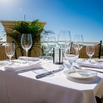 With postcard views of the beach, The Terrace at Sale e Pepe features a more casual atmosphere