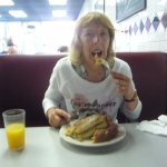 me and my yummy scrummy French toast.