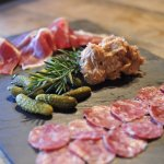 Charterie plate