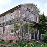 Comstock Ferre & Company - Exterior, Closeup of Seed Building