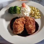 pecan crusted chicken, Steven W's Downtown Bistro, Newberry, SC, May 2017