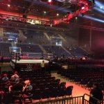 Inside the Echo Arena during WWE Live