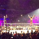 Jeff and Matt Hardy during WWE Live at the Echo Arena