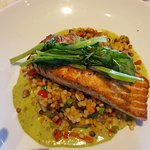 Salmon at Terrace Point Cafe