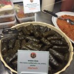 Warak Enab - delicious vine leaves stuffed with rice, herbs and spices