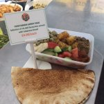The one and only LB's vegetarian lunch box! Selection of 6 deli favourites - delicious!