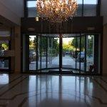 Lussuosa Hall dell'albergo