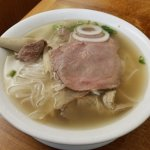 Large Beef Noodle Soup...that's PHO $7.95