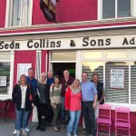 Arizona Group at Sean Collins bar in Adare, Ireland