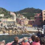 Docking at Vernazza