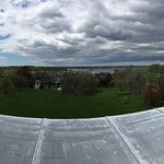 panoramic view from the roof of the Elms