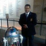 I also met R2!