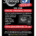 Get a discount when you order a Home delivery from Jinnah Leeds using our online ordering servic