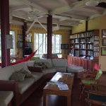 Lounge and library