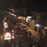 Bourbon St, Sunday night