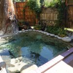 Private hot spring