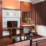 Premiere Family Bedroom 1, TV Area