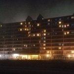 Dunes Manor Hotel at night
