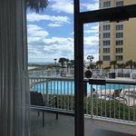 1st floor pool-view king room