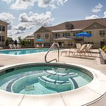 Catch some sun by the pool or relax in the hot tub.