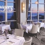 Dine with a panoramic view of the Gulf of Mexico