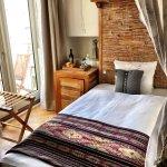 Single room with balcony. Warm and cozy.
