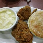 The answer to undecided! Pot Pie, Fried Chicken, and Chicken and dumplings!