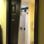 Bathroom pocket door torn off the track