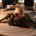 Reef Fish with jasmine rice