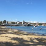 Looking North along Manly beach!