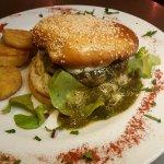 Italian burger et pesto maison